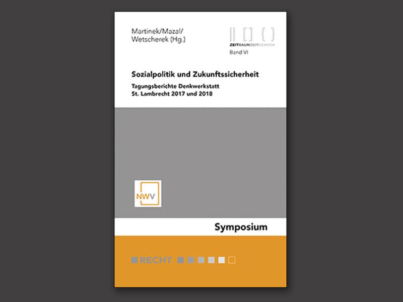 Cover Sozialpolitik und Zukunftssicherheit